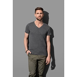 T-shirt STEDMAN STARS Luke V-neck AQH XL